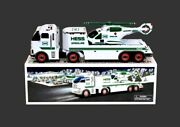 Hess Gasoline Toy Truck And Helicopter 2006 Holiday Collectible Toy Mint In Box