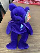 1997 Ty Beanie Baby Princess Diana The Bear Rare And Retired