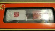 Lionel 9700 Bc Salvation Army Disaster Freight Train Box Car 6-26256 New In Box