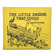 The Little Engine That Could By Watty Piper Beautiful Illustrations 1961 Vintage
