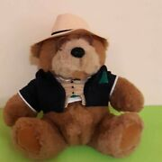 Big Daddy Bear With Glasses - Lands' End - Gund - Plush 1992 - Limited Edition