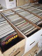 Mixed Lot Of 50 Marvel / Dc Comic Books Bronze To Modern Free Shipping