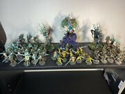 Sylvaneth, Age Of Sigmar, Painted Army, Warhammer, Wood Elves. Battle Ready