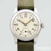Enicar British Army Original Dial Vintage Watches 1940s From Japan 20210309n