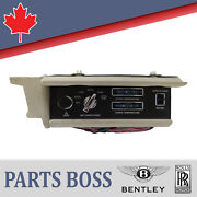 Rolls Royce Bentley 1987-1989 Oem Front Complete Climate Switch Panel Ub43451