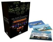 Jal Fleet Postcard Box 100 Sheets Collectible Issued Japan Airlines