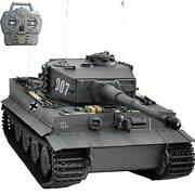 Big Hooben 1/10 Rc German Tiger Type 1 Finished Product Semi-metal From Jp 3134