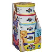 Play-doh Sand Variety 5-pack Of Play-doh Shimmer Stretch Compounds For Kids 6oz