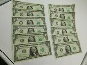 12 1 Dollar Note From Federal Reserve Banks Abc Defghijkl 138