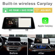 8-core Android 10 Car Gps Navi Video Wireless Carplay For Bmw 7 Series G11 2016+