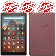 New Fire Hd 10 9th Generation 64gb Wi-fi10.1and039and039 Plum - Freeship
