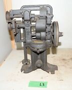 Usmc Apex Feather Edge Shank Reducing Machine No A Leather Saddle Collectible L3
