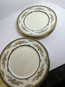 4 Minton Stanwood Fine China Dinner Plates 10andrdquo/excellent/mint Condition/england