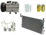 Ryc Remanufactured Complete Ac Compressor Kit Ai44 Eg189 With Condenser