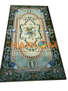 5and039x3and039 Schandoumlne Marmor Ess Table Top Multi Floral Inlay Restaurant Dekor B504