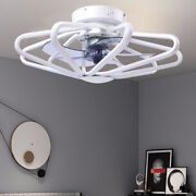23 Ceiling Fan Light Led Fan Lamp +remote Control 3 Speeds Timing Setting