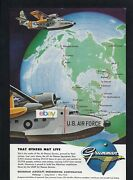 Grumman Aircraft Sa-16 Albatross For U.s.air Force So Others May Live Color Ad