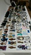 Vintage Star Wars Action Figure Lot - Nice 1-owner. 119 With Tons Of Weapons