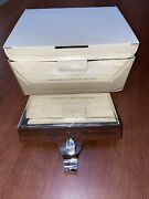 """Pottery Barn """"all I Want For Christmas""""stocking Holder Silver Finish"""