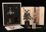 Mp Studio Chinese Zodiac With Tattoos Rabbit Statue Collectible Model In Stock