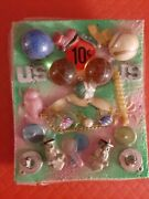 Vintage Gumball/vending Superball/mechanical Old Lady's Shoe10 Cent Display Card