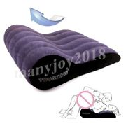 Body Sex Wedge Pillow Love Aid Game Inflatable Position Cushion Couple Sofa