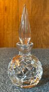 Waterford Crystal Perfume Bottle With Dabber - Lismore