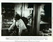 1991 Press Photo Steven Seagal William Forsythe In Out For Justice - Cvp45054
