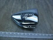 1993 Kawasaki Vn750 Vulcan K719 Chrome Right Side Cover Panel With Emblem