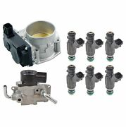 Hitachi Fuel Injection Throttle Body And Idle Air Control Valve Kit For Pathfinder