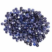 Natural Blue Sapphire Round Cabochon Loose Gemstone Lot 363.5 Ct 5x5 6x6mm Ss205