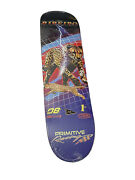 Rare Primitive Skate Ribeiro Speed 8.0 Skateboard Deck Discontinued And Sold Out