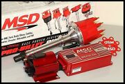 Chevy Cdi Ignition System Msd 6al Pro Billet Distributor And Coil Msd-2950-kit