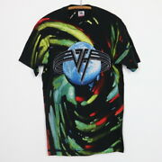 Vintage 1992 Van Halen Live Right Here Right Now Tour All Over Print Shirt