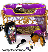 Monster High Doll Clawdeen Dead Tired Bunk Beds Vgc With Accessories