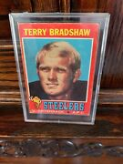 1971 Topps Terry Bradshaw Rookie Card 156