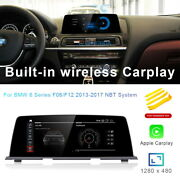 8-core Android 10.0 Car Gps Nav Video Carplay For Bmw 6 Series F06 F12 2012-2017