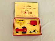 Vintage Slik Toy Farm Set 9925 New Condition Oliver Tractor And Implememts