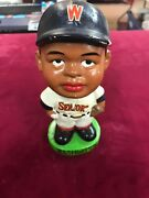 1963 Vintage Rare Washington Senators Black Player Bobble Bobblehead Nodder