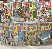 The Human Fly Marvel, 1978 1-13, 15, 17-19