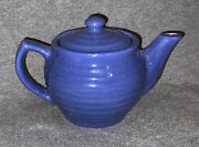 Vintage Bauer Pottery Ring Ware Individual Teapot