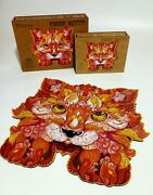 Wooden Jigsaw Puzzles Unique Animal Jigsaw Pieces Gift For Adults And Kid F Cat Xl