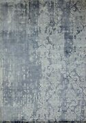 9and039x12and039 Rug | Modern Luxury Hand Knotted Silk Multi Area Rug