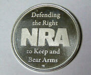 Nra Defending The Right To Keep And Bear Arms 1 Oz .999 Fine Silver 41421