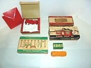 Lot Of Nice Plasticville For Your O Or S Gauge Train Platform Take A Look