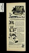 1953 Now 3 Coleman Outing Pals Lantern Camp Stove Vintage Print Ad 015815