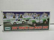 Hess 2011 Collectible Toy Truck And Race Car Lights And Sounds Nib Free Shipping
