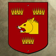 Grant Family Coat Of Arms Sign 12x16 Shield Crest Scotland