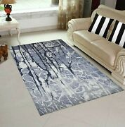 5and0396 X 8and039| 8and039x10and039rug | Indo Tibetan Hand Spun Wool And Artificial Silk Multi Area
