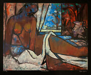William Tolliver Serigraph Signed And Numbered Artist Proof 19/30 Ascending Nude